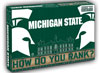 How Do You Rank? Michigan State©How Do You Rank, Inc.