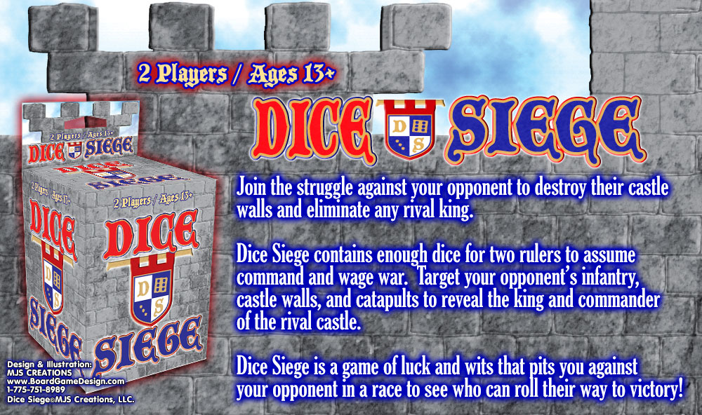 Dice Siege©Council Games, LLC.