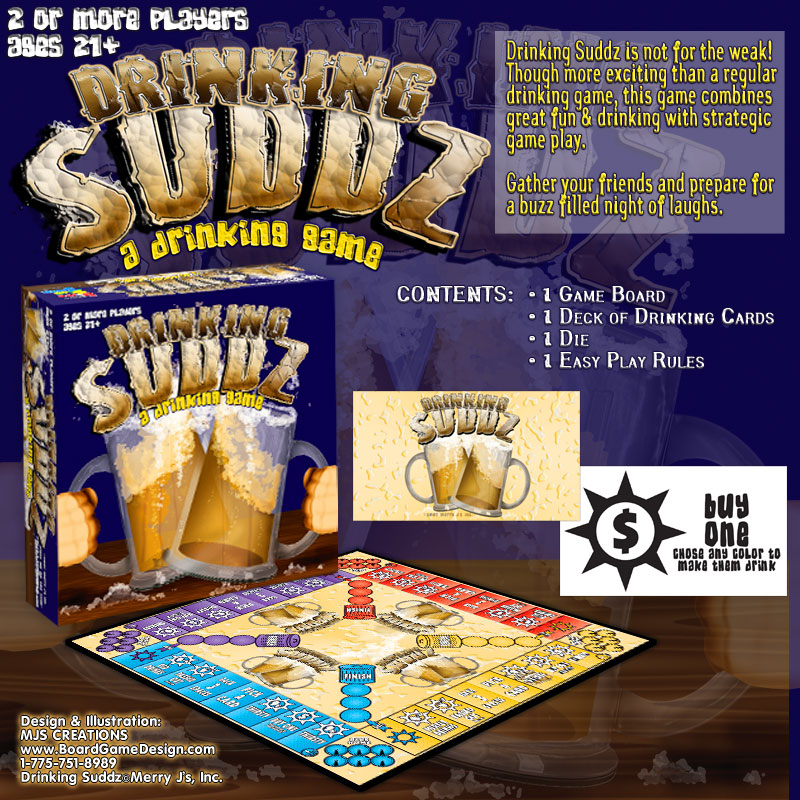 Drinking Suddz©Merry J©s, Inc.