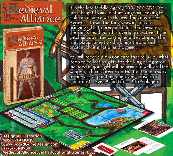 Medieval Alliance©Jett Educational Games, LLC.