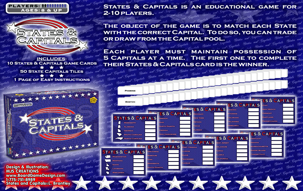 States and Capitals©L. Brantley