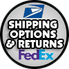 Shipping Information & Options here!