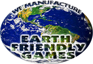 We make Earth Friendly/Eco Friendly Games, click here